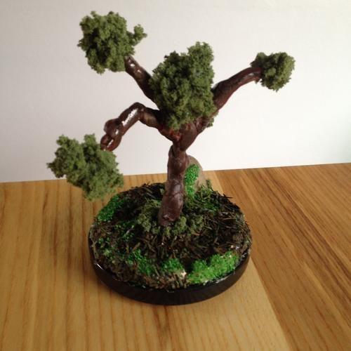 Miniature zen tree
