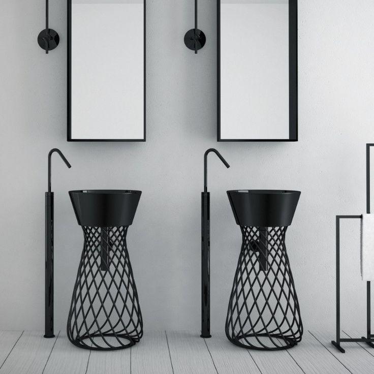 85 best Bad images on Pinterest Bathroom, Bathrooms and Design - lampe badezimmer decke