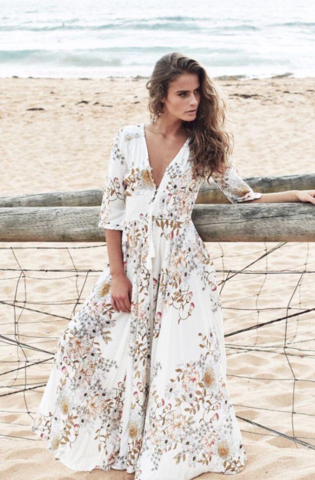 Jaase - Ndiana Maxi Dress In Delilah Print