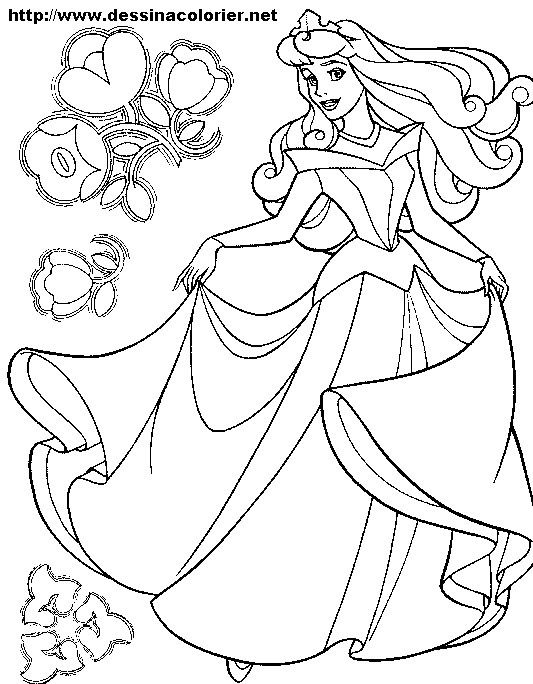 Coloriage A Imprimer Gratuit Disney Sleeping Beauty Coloring Pages Cinderella Coloring Pages Disney Princess Coloring Pages