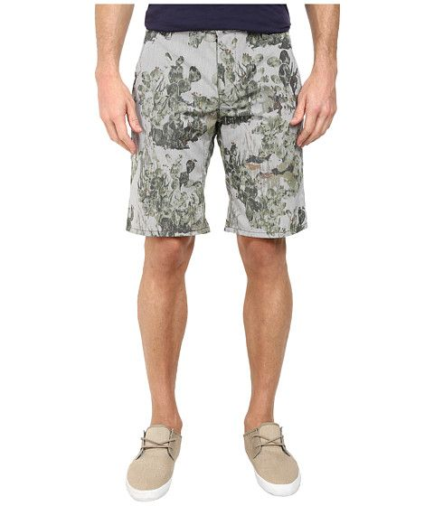 BOSS Orange Sairy-Shorts-W Slim Fit Cactus Printed Summer Stripe Shorts