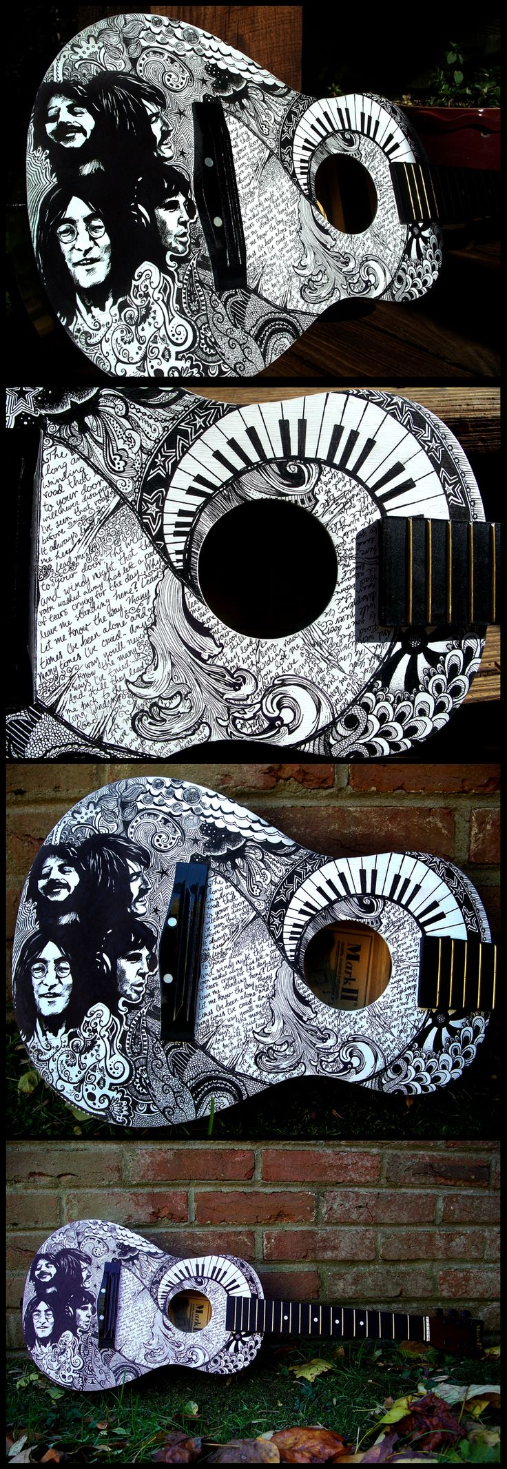 El arte en guitarras - Parte 2..Pero estaba mjor la 1.. - Taringa!                                                                                                                                                                                 Más