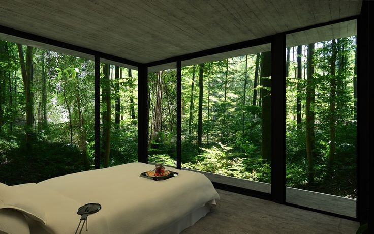 Gres House in a Brazilian Rain Forest by Luciano Kruk via Homeli.co.uk