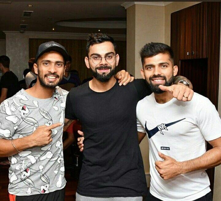 Mandeep Virat And Manan Vohra Squad Virat Kohli Mens Tops