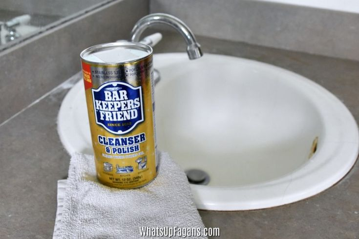 If you need to know how to remove rust stains on porcelain sink, then you've come to the right place! Just follow this easy cleaning tutorial.
