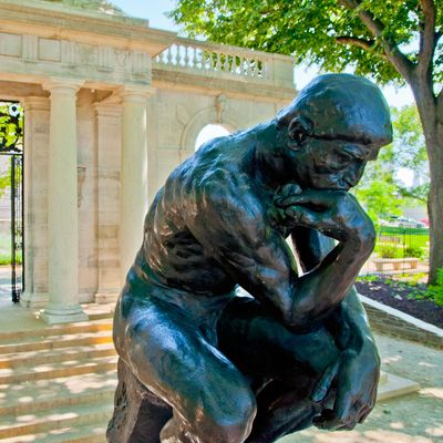 Administered by the Philadelphia Museum of Art, this is the largest collection of Auguste Rodin sculptures outside France.