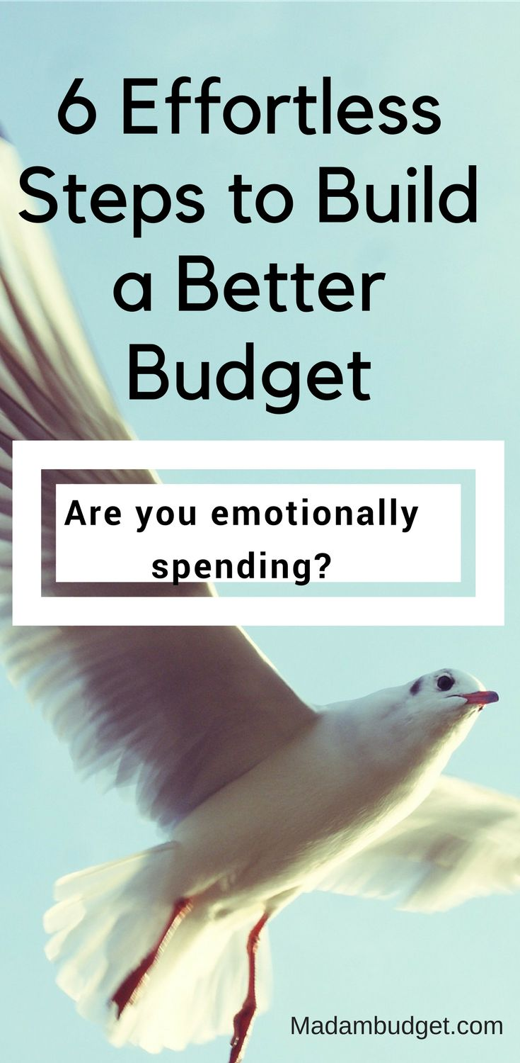 Budgeting comes easy for some people.  They never seem to be in debt and have a healthy savings account.  But for the rest of us a budget sounds rational but isn't easy to establish or follow.  If you fall into the latter category follow these 6 effortless steps to help you...