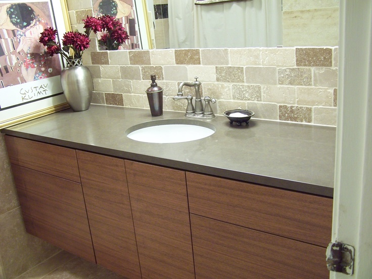 Hung Vanities for Grandstar Builders  Austin Modern Bathroom Vanities