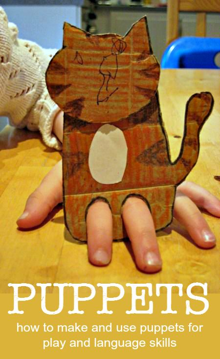 Hoe om poppen te maken en te gebruiken voor taalvaardigheid, het vertellen van verhalen en rollenspellen
