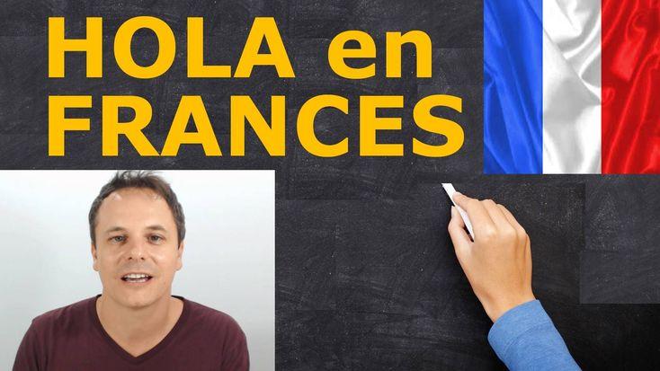 En este vídeo podemos aprender a pronunciar algo tan básico como saludar y despedirnos en francés. También podemos aprender a utilizar los diferentes saludos dependiendo de en que momento del día estemos.