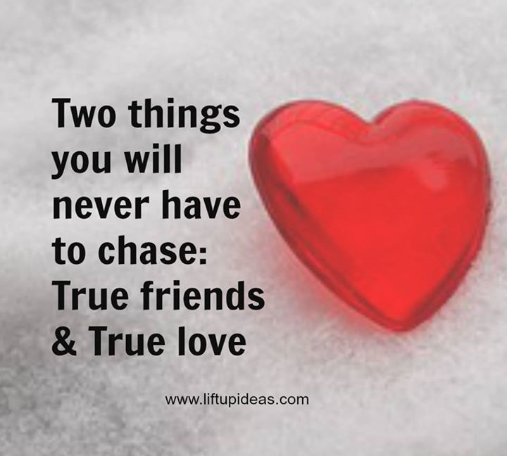 Two things you will never have to chase QUOTE.  www.liftupideas.com