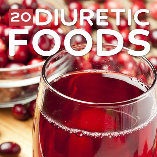 20 Diuretic Foods- to lower blood pressure and lose weight.for my mommy and her blood clots