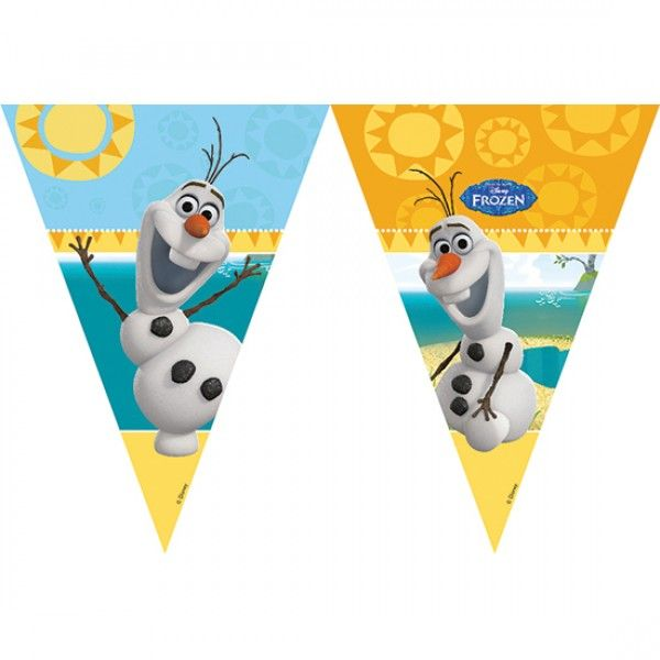 Disney Frozen Olaf Summer Party Bunting