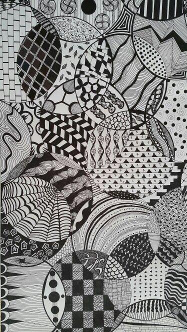 Zentangle inspired from the net
