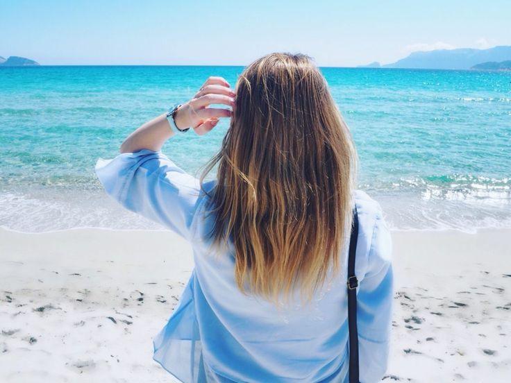 AIDA Mediterrane Highlights 1 - Mittelmeer Kreuzfahrt, AIDACruise, Cruise, Sardegna, Sardinien, Olbia, Beach, Hairgoals, Ombre Hair, Bronde