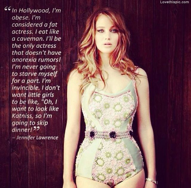 Jennifer Lawrence quotes celebrities life katniss actress ...