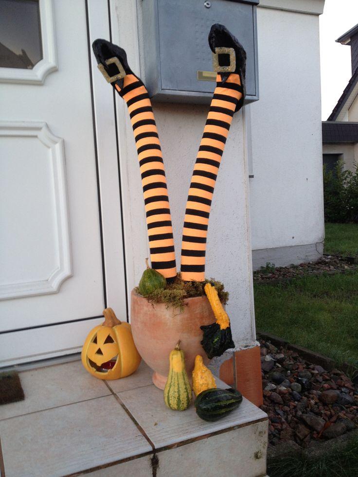 Halloween Deko aus Poolnudel