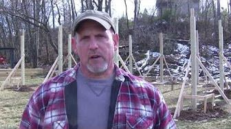 How to Build a Pole Barn Pt 1 - Site Prep & Layout - YouTube