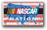 NEOPlex 3' x 5' NASCAR Nation Motor Sports Flag by NEOPlex. $24.95. This 3 x 5 foot NASCAR racing sports flag is made from super polyester that is durable, yet lightweight enough to fly in even the lightest breeze. It has 2 brass grommets firmly attached to heavy canvas on the inner fly side. Bright, vivid colors and colorfast to reduce fading. Many titles to choose from.