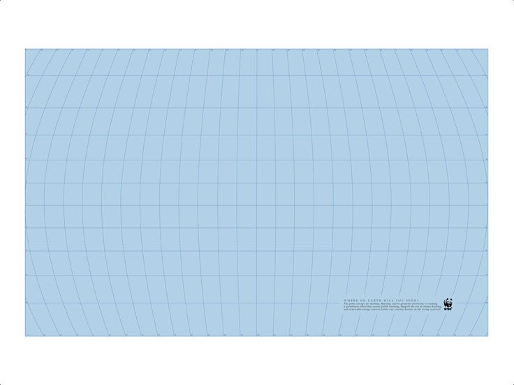 """Where on earth will you hide?"" by Ogilvy & Mather for WWF. #water #globalwarming"