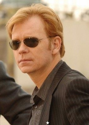 David Caruso, who my daughter gets her red hair from :)