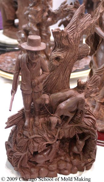 Chocolate sculpture #chocolates #sweet #yummy #delicious #food #chocolaterecipes #choco
