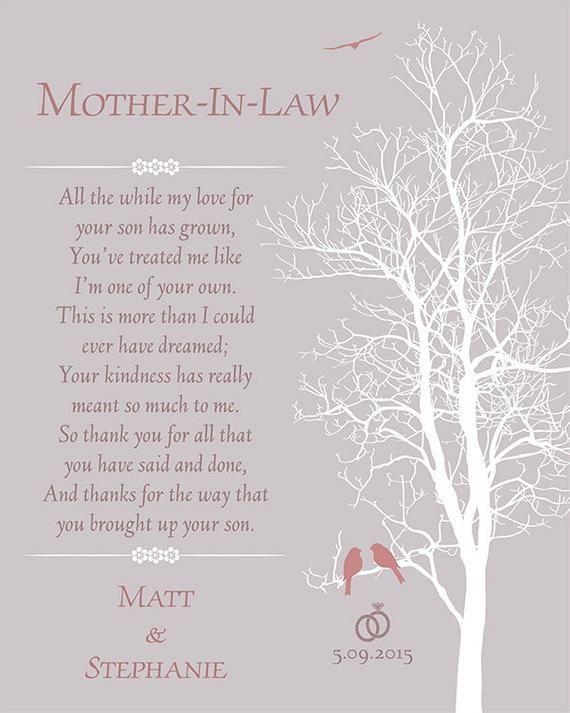 Super Moeder in wet Huwelijkscadeau - Moeder van de Bruidegom Gedicht ZF-16