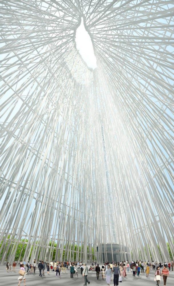 Taiwan Tower First Prize Winning Proposal / Sou Fujimoto Architects