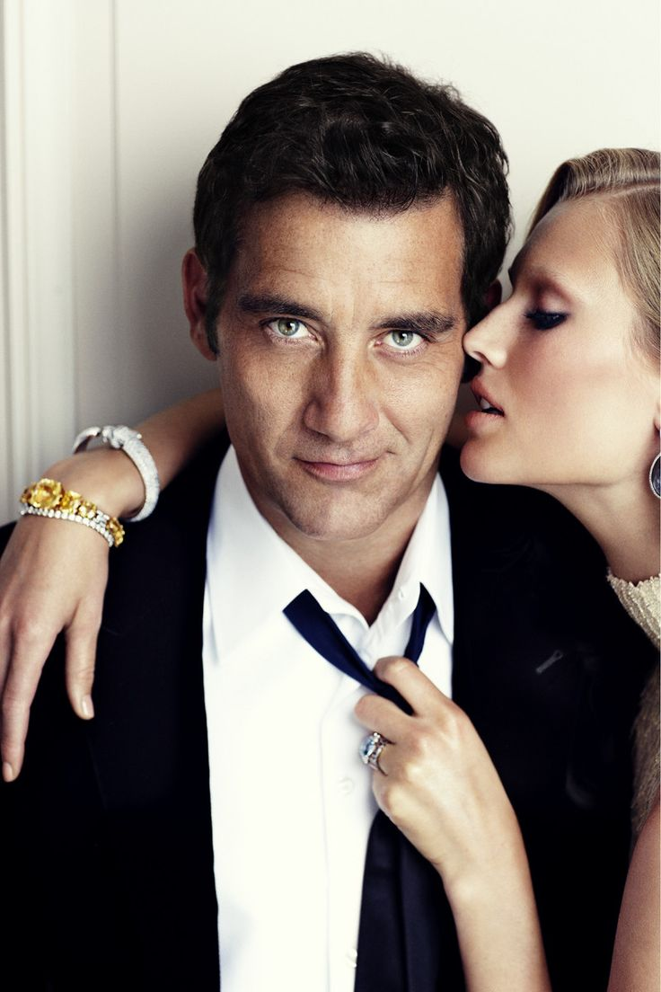 ☆ Clive Owen & Toni Garrn | Photography by Alexi Lubomirski | For Vogue Magazine Spain | October 2011 ☆ #Clive_Owen #Toni_Garrn #Alexi_Lubomirski #Vogue #2011