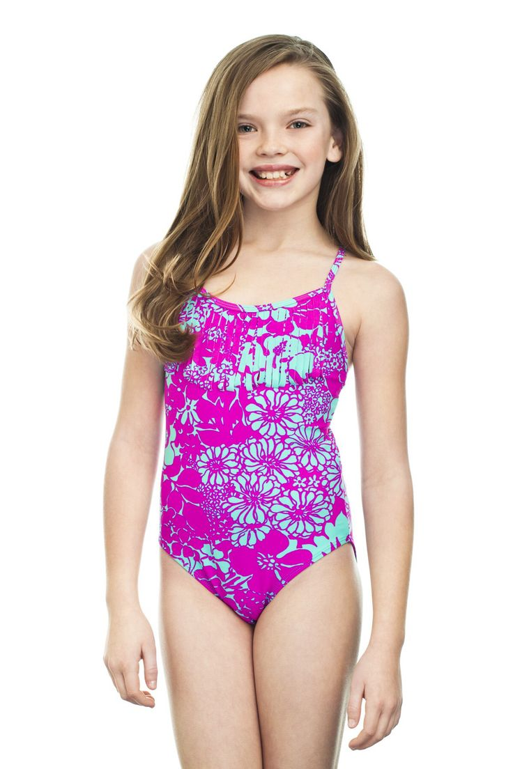 Teenage Swimming Costume Girl In A Bathing Suit And Hat Sc 1 St