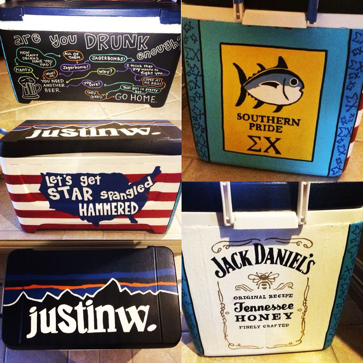 Sigma chi cooler for my boyfriend
