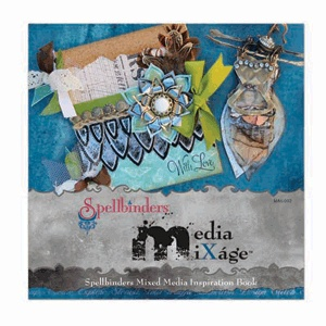 """""""Mixed Media Cards"""" by: Judi Kauffman - image 2 - for Scrapbooking.com March 2013 issue"""