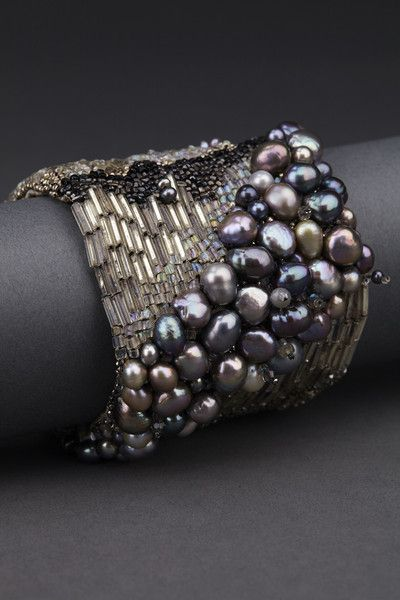 Midnight Couture Cuff – ANDREA GUTIERREZ JEWELRY