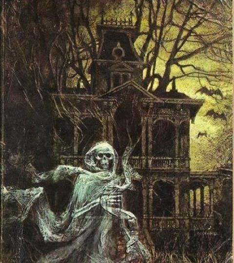 cool halloween paintings