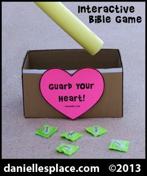 Themes for Sunday School Rooms | ... Interactive Bible Game for Sunday School from www.daniellesplace.com