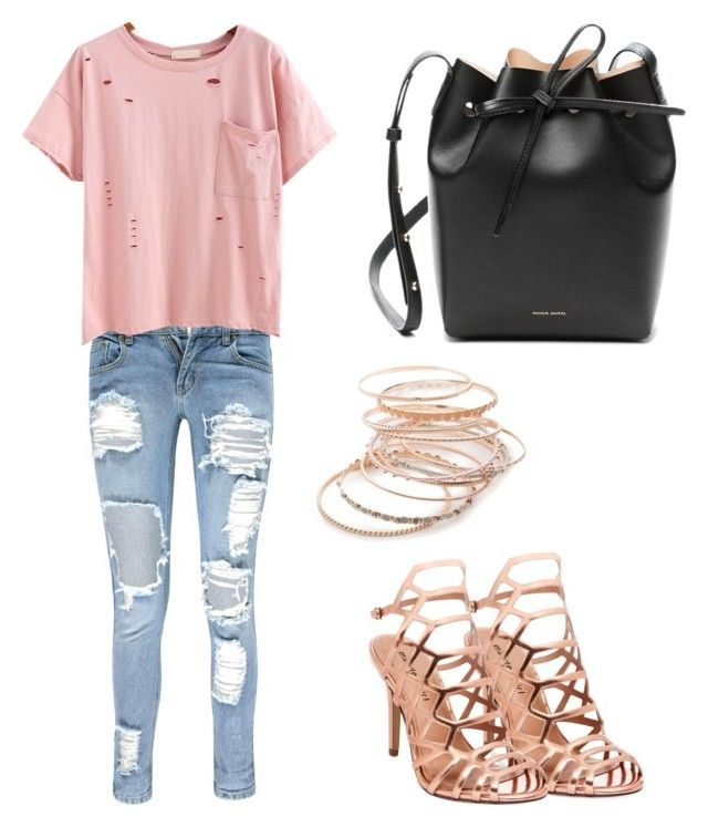 """""""Errand glam"""" by vankaa on Polyvore featuring Boohoo, Madden Girl, Mansur Gavriel and Red Camel"""