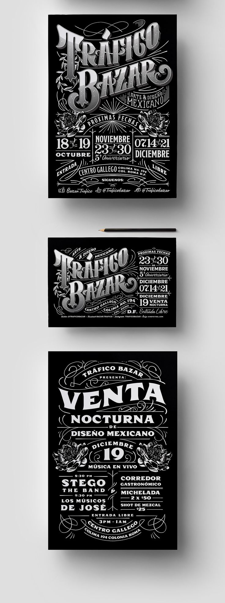 Design & Lettering on Typography Served