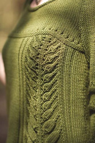 Link to Ravelry - Berroco pattern that you have to buy from their site hard copy. Pretty, not sure I want the hassle of trying to get the pattern book.
