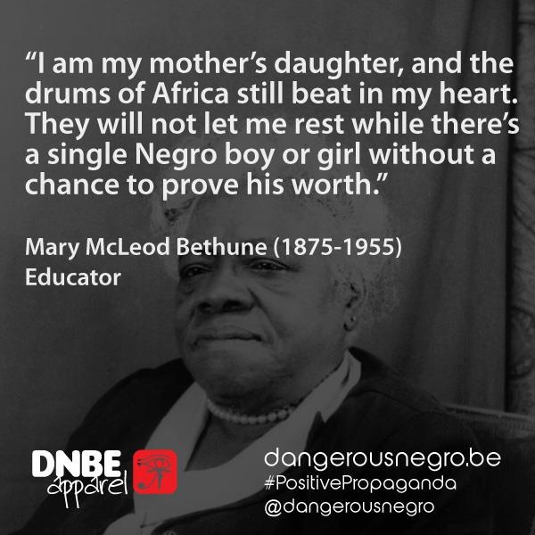Love Quotes About Life: Mary McLeod Bethune