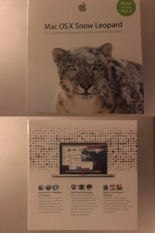 Operating Systems 11226: Apple X Snow Leopard 10 6 3 Mac Os