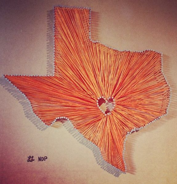 25 best ideas about texas string art on pinterest ohio for Diy nail and string art