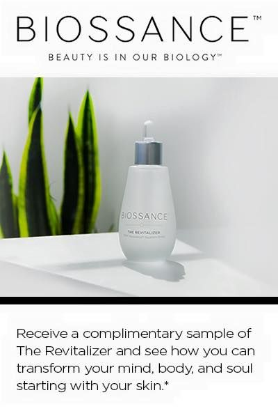 BIOSSANCE REVITALIZER Complimentary Sample  Just answer a short survey