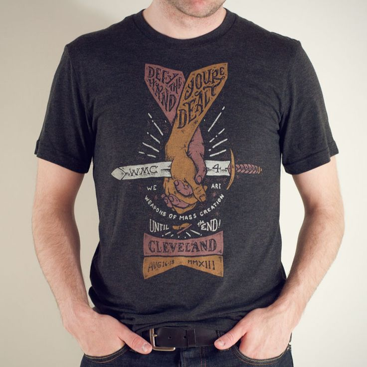 WMC 4 Hand/Sword T-Shirt | Go Media and WMC Fest Merch | Shirts, Posters, and Accessories
