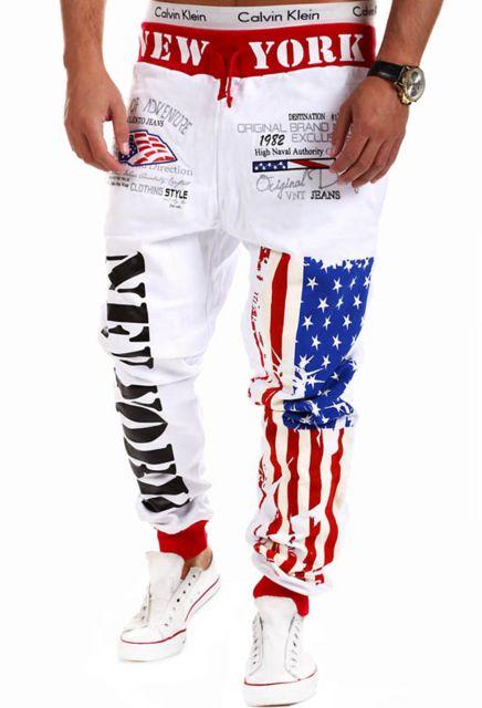 2017 New Street Style Joggers Letter Printing Compression Pants Men Cotton Trousers  #Style #men #Pants #pencilpants #sportspants #casualpants #streetwear #printedpants #joggerspants