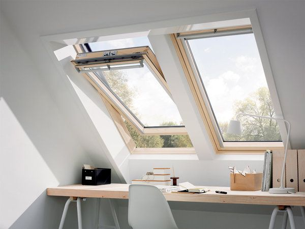 desk - velux - attic