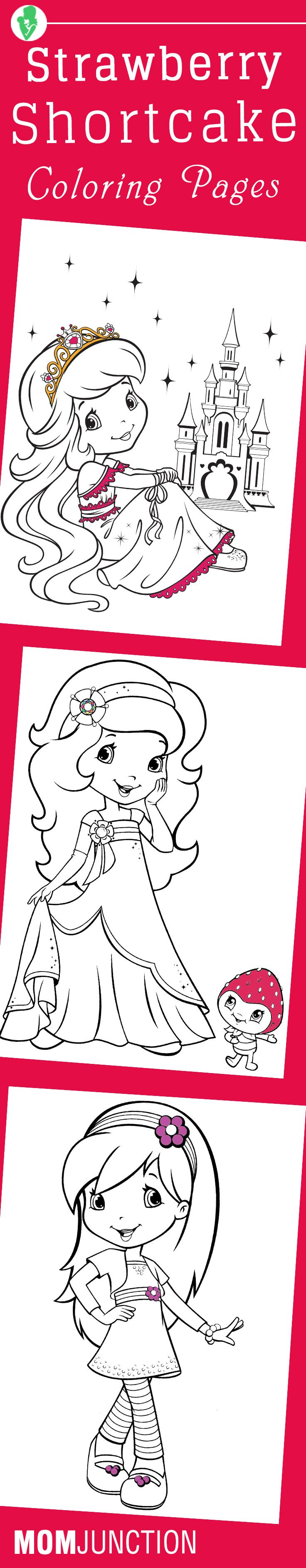 Pizza lessons and a pizza coloring page printable - Top 20 Free Printable Strawberry Shortcake Coloring Pages Online