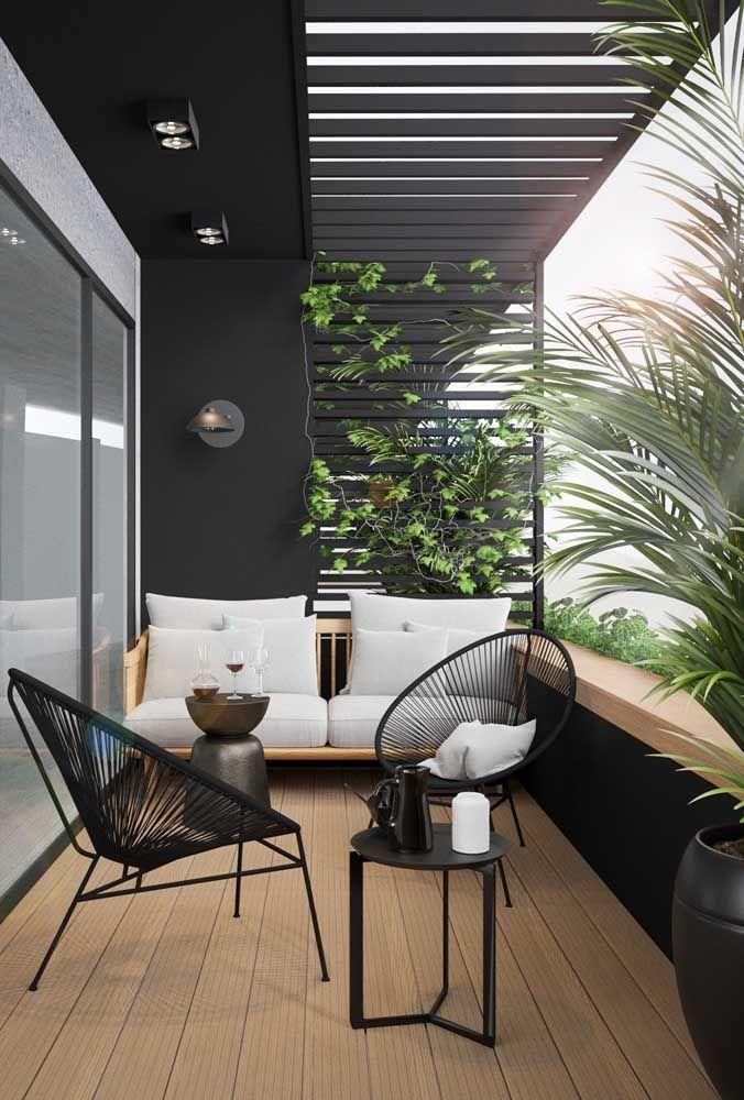 Welcher Balkon ist mit einem hängenden Garten nicht bequemer und gemütlicher
