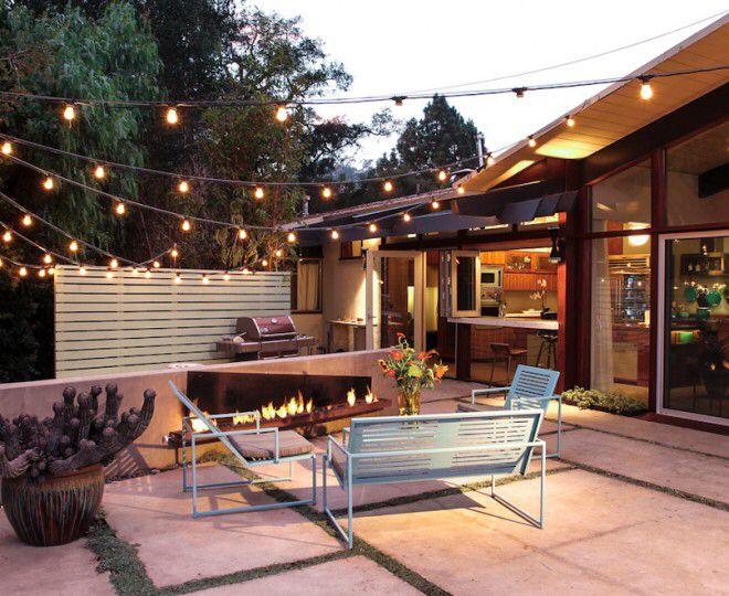 Ber ideen zu terrassen lichterketten auf pinterest for Lichterketten ideen
