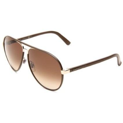Gucci Women`s Aviator Sunglasses