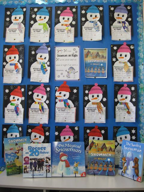 Classroom Fun: snowmen at night I just bought the TPT unit noted in this blog, it's really great!